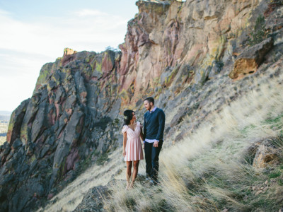 Geoff + Becky (Smith Rock)